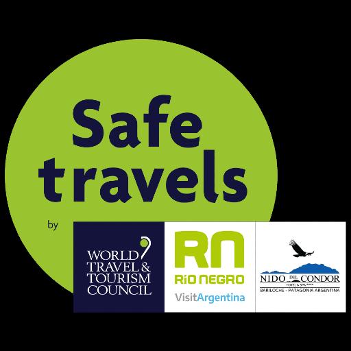 Viaja seguro, contamos con todos los protocolos covid para cuidar a nuestros huespedes y que puedan disfrutar de San Carlos de Bariloche